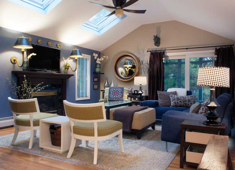 Family Room by LeStage Interior Design